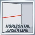 Keresztvonal-lézer TC-LL 2 VKA 2