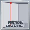 Keresztvonal-lézer TE-LL 360 VKA 3