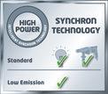 Stromerzeuger (Benzin) TC-PG 1000 Logo / Button 1