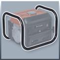 Áramfejlesztő (benzines) TC-PG 1000 Detailbild ohne Untertitel 4
