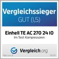 Kompressor TE-AC 270/24/10 Testmagazin - Logo (oeffentlich) 1