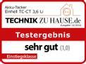 Graffettatrice a batteria TC-CT 3,6 Li Testmagazin - Logo (oeffentlich) 1