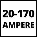 Inverter-Schweissgerät TC-IW 170 VKA 1