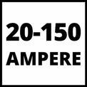 Inverter-Schweissgerät TC-IW 150 VKA 1