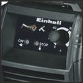 Inverteres hegesztőgép TC-IW 150 Detailbild ohne Untertitel 1