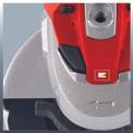 Winkelschleifer TE-AG 125 CE Detailbild ohne Untertitel 3