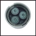 Akku-Bohrschrauber TE-CD 18 Li E - solo Detailbild ohne Untertitel 4