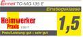 Schleif- und Gravur-Werkzeug TC-MG 135 E Testmagazin - Logo (oeffentlich) 1