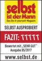 Akkus fűnyíró GE-CM 33 Li Kit Testmagazin - Logo (oeffentlich) 1