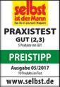 Exzenterschleifer TE-RS 40 E Testmagazin - Logo (oeffentlich) 1