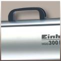 Heißluftgenerator HGG 300 Niro (DE/AT) Detailbild ohne Untertitel 3