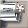 Heißluftgenerator HGG 300 Niro (DE/AT) Detailbild ohne Untertitel 1