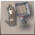 Gasheizstrahler GS 4400 P Detailbild ohne Untertitel 2