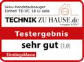 Akku-Handstaubsauger TE-VC 18 Li - Solo Testmagazin - Logo (oeffentlich) 2