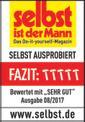 Akkus talajlazító GE-CR 30 Li-Solo Testmagazin - Logo (oeffentlich) 1