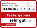 Kreuzlinienlaser TE-LL 360 Testmagazin - Logo (oeffentlich) 1