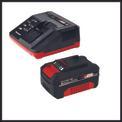 Akku-Winkelschleifer TE-AG 18/115 Li Kit (1x3,0Ah) Detailbild ohne Untertitel 4