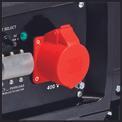 Stromerzeuger (Benzin) TC-PG 5500 WD Detailbild ohne Untertitel 3