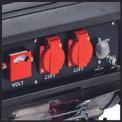 Stromerzeuger (Benzin) TC-PG 3500 W Detailbild ohne Untertitel 2