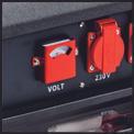 Stromerzeuger (Benzin) TC-PG 3500 W Detailbild ohne Untertitel 3