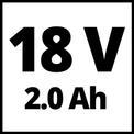 Akku-Heckenschere GE-CH 1846 Li Kit (1x2,0Ah) VKA 1