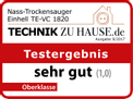 Wet/Dry Vacuum Cleaner (elect) TE-VC 1820 Testmagazin - Logo (oeffentlich) 1