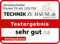 Winkelschleifer TE-AG 125/750 Testmagazin - Logo (oeffentlich) 1