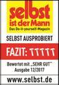 Tischkreissäge TE-TS 2025 UF Testmagazin - Logo (oeffentlich) 1