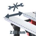 Tischkreissäge RT-TS 1221 Detailbild ohne Untertitel 8