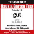 Akkus lombszívó GE-CL 36 Li E-Solo Testmagazin - Logo (oeffentlich) 2