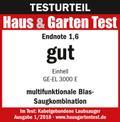 Elektromos lombszívó GE-EL 3000 E Testmagazin - Logo (oeffentlich) 1