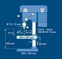 Säulenbohrmaschine BT-BD 401 Detailbild ohne Untertitel 6