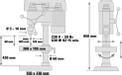 Trapano a colonna BT-BD 701 Detailbild ohne Untertitel 4