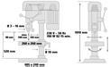Állványos fúrógép BT-BD 1020 VKA 4
