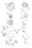 ersatzteile zu d nts 20 a duro pro nass trockensauger. Black Bedroom Furniture Sets. Home Design Ideas