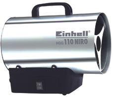 Hőlégbefúvó HGG 110 Niro Produktbild 1