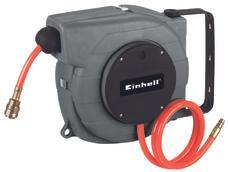 Aut. tömlődob (levegő) DLST 9+1 automatic hose wheel. Produktbild 1