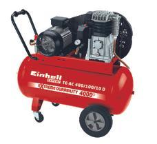Air Compressor TE-AC 480/100/10 D Produktbild 1