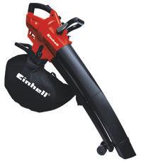 Electric Leaf Vacuum GC-EL 2600 E Produktbild 1