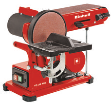 Stationary Belt-Disc Sander TC-US 400 Produktbild 1
