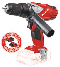 Cordless Impact Drill TE-CD 18-2 Li-i Solo Produktbild 1