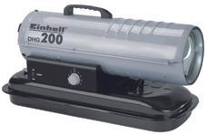Hot Air Generator (Diesel) DHG 200 Produktbild 1