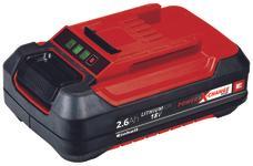 Baterie 18V 2,6Ah P-X-C Plus Produktbild 1