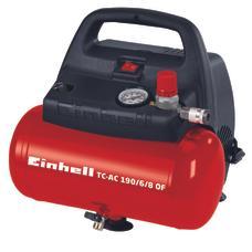 Air Compressor TC-AC 190/6/8 OF Produktbild 1