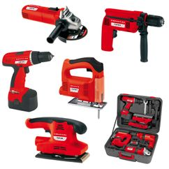 Productimage Power Tool Kit 5-teiliges Maschinen Set