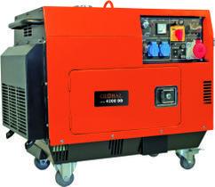 Power Generator (Diesel) GPG 4200DD; EX; Zgonc Produktbild 1