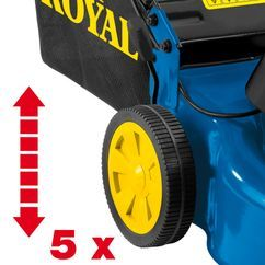 Electric Lawn Mower REM 1846 Detailbild 1