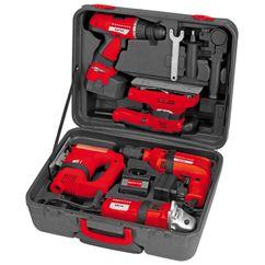 Power Tool Kit 5-teiliges Maschinen Set Detailbild 1