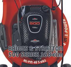 Petrol Lawn Mower RG-PM 48 S B&S Detailbild 1