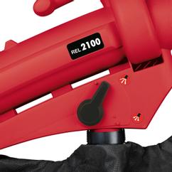 Electric Leaf Vacuum REL 2100 Rot Detailbild 1